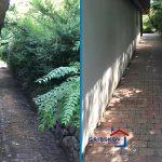 Rensning af havefliser