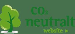 CO2 Neutral hjemmeside